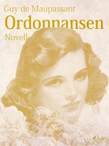 Ordonnansen (e-bok) av Guy de Maupassant
