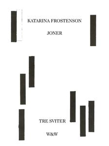 Joner : Tre sviter (e-bok) av Katarina Frostens