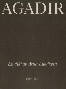 Agadir : En dikt (e-bok) av Artur Lundkvist