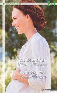 Räddade av kärlek/Balett och begär (e-bok) av M