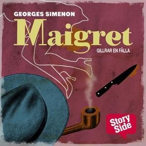 Maigret gillrar en fälla (ljudbok) av Georges S