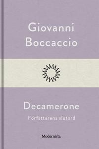 Decamerone, författarens slutord (e-bok) av Gio
