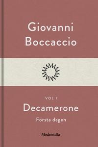 Decamerone vol 1, första dagen (e-bok) av Giova
