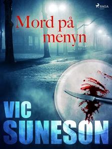 Mord på menyn (e-bok) av Vic Suneson