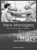 New Managers; From onboarding to delivery