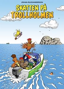 Skatten på Trollholmen (e-bok) av Johan Alexand