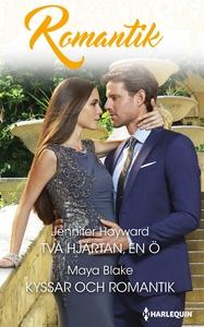 Två hjärtan, en ö/ Kyssar och romantik (e-bok)