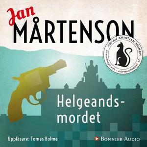 Helgeandsmordet (ljudbok) av Jan Mårtenson