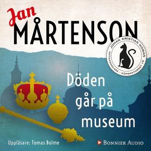 Döden går på museum (ljudbok) av Jan Mårtenson
