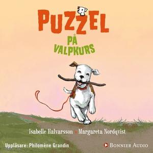 Puzzel på valpkurs (ljudbok) av Isabelle Halvar