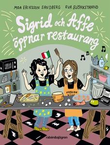 Sigrid och Affe öppnar restaurang (e-bok) av Mo