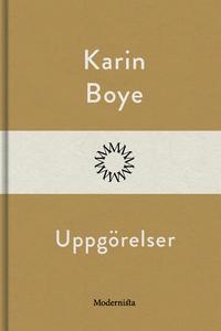Uppgörelser (e-bok) av Karin Boye