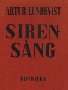 Sirensång (e-bok) av Artur Lundkvist