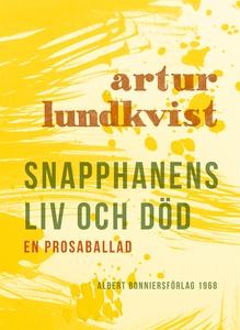 Snapphanens liv och död : En prosaballad (e-bok