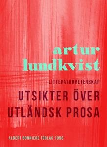 Utsikter över utländsk prosa (e-bok) av Artur L