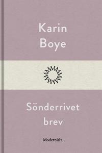 Sönderrivet brev (e-bok) av Karin Boye