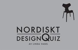 Nordiskt DesignQuiz