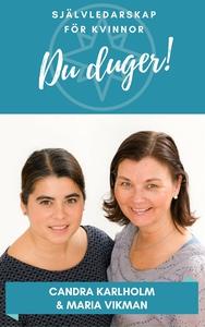 Du duger (ljudbok) av Candra Karlholm, Maria Vi