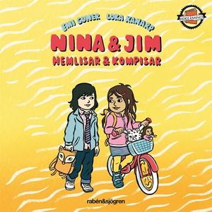 Nina & Jim - hemlisar & kompisar (ljudbok) av E