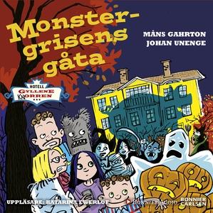Monstergrisens gåta (ljudbok) av Johan Unenge,