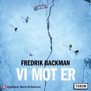 Vi mot er (ljudbok) av Fredrik Backman