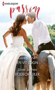En vit lögn/Rodeokärlek (e-bok) av Jules Bennet