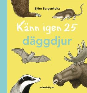 Känn igen 25 däggdjur (e-bok) av Björn Bergenho