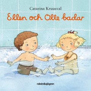 Ellen och Olle badar (e-bok) av Catarina Kruusv