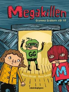 Megakillen - Grymma Grabben slår till (ljudbok)
