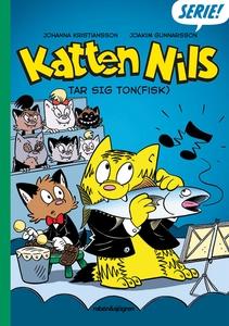 Katten Nils tar sig ton(fisk) (e-bok) av Johann