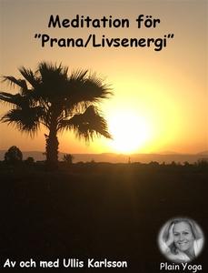Meditation Prana-Livsenergi (ljudbok) av Ulrika