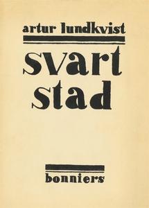 Svart stad : Dikter (e-bok) av Artur Lundkvist