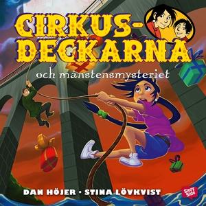Cirkusdeckarna och månstensmysteriet (ljudbok)