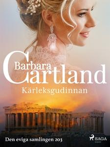 Kärleksgudinnan (e-bok) av Barbara Cartland