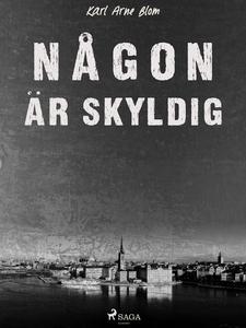 Någon är skyldig (e-bok) av Karl Arne Blom