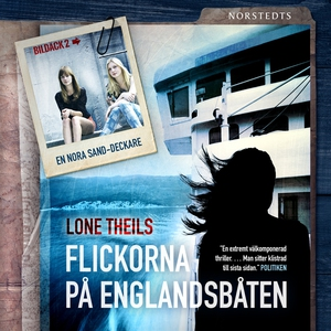 Flickorna på Englandsbåten (ljudbok) av Lone Th