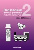 Ordstadium, primitiv grammatik - arbetsmaterial