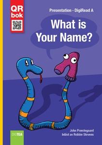 What is Your Name? - DigiRead A (e-bok) av John