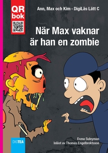 När Max vaknar  är han en zombie - DigiLäs Lätt