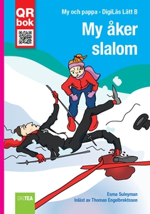 My åker  slalom - DigiLäs Lätt B (e-bok) av Esm