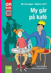 My går  på kafé - DigiLäs Lätt C (e-bok) av Esm