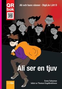 Ali ser en tjuv - DigiLäs Lätt D (e-bok) av Esm