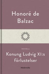 Konung Ludvig XI:s förlustelser (e-bok) av Hono