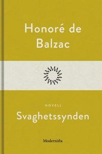 Svaghetssynden (e-bok) av Honoré de Balzac