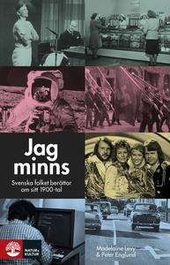 Jag minns : svenska folket berättar om sitt 190