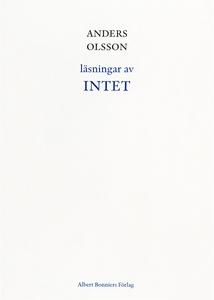 Läsningar av INTET (e-bok) av Anders Olsson