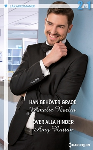Han behöver Grace/Över alla hinder (e-bok) av A