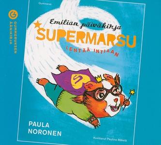 Supermarsu lentää Intiaan (ljudbok) av Paula No