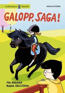 Saga och Max 3 - Galopp, Saga! (e-bok) av Pia H