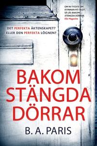Bakom stängda dörrar (e-bok) av B.A. Paris